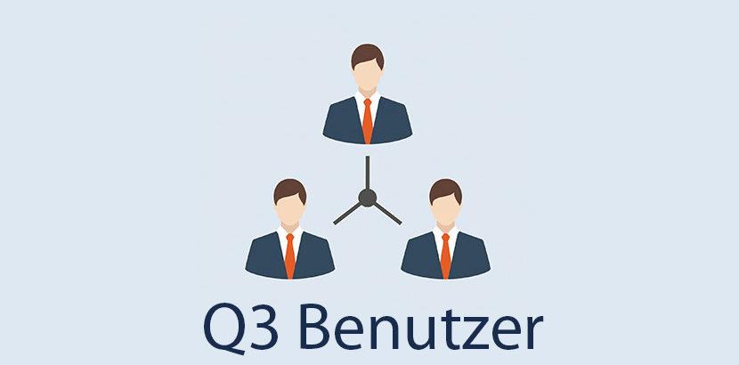 Q3 Benutzer