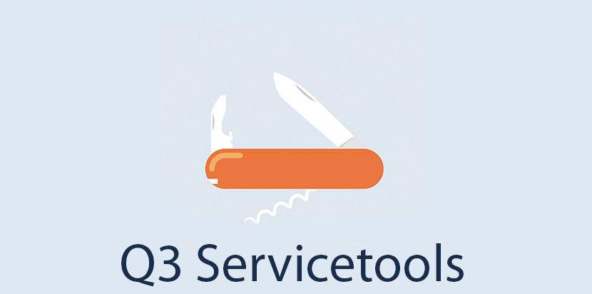 Q3 Option Servicetools